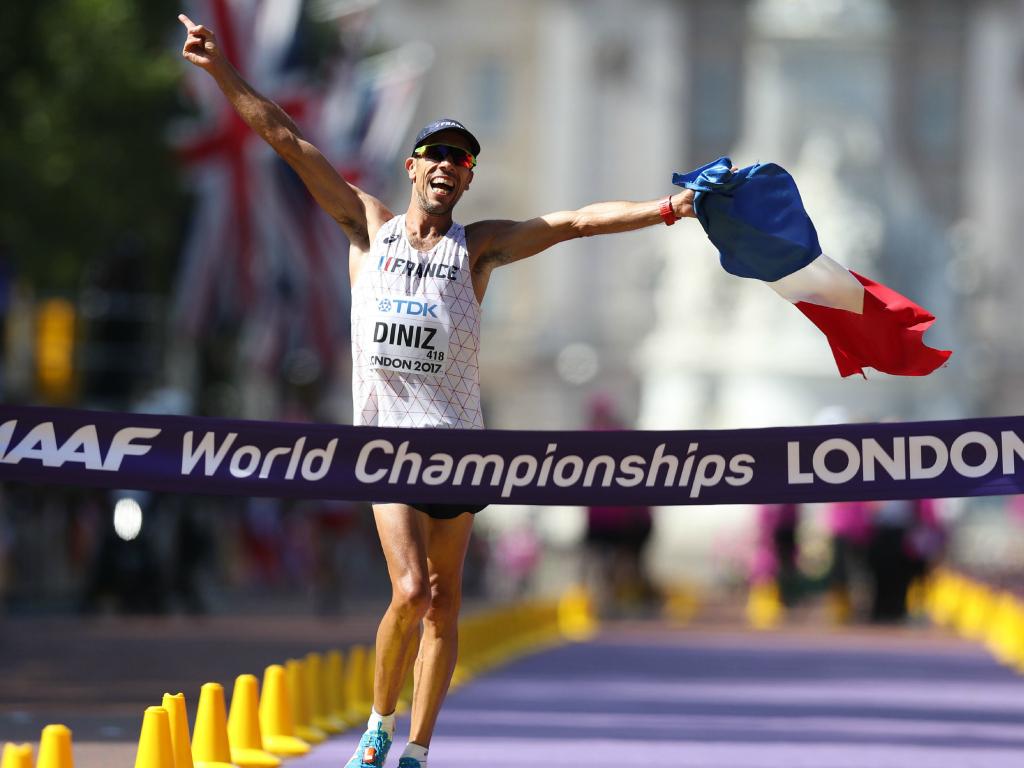 Yohann Diniz sacré champion du monde à Londres