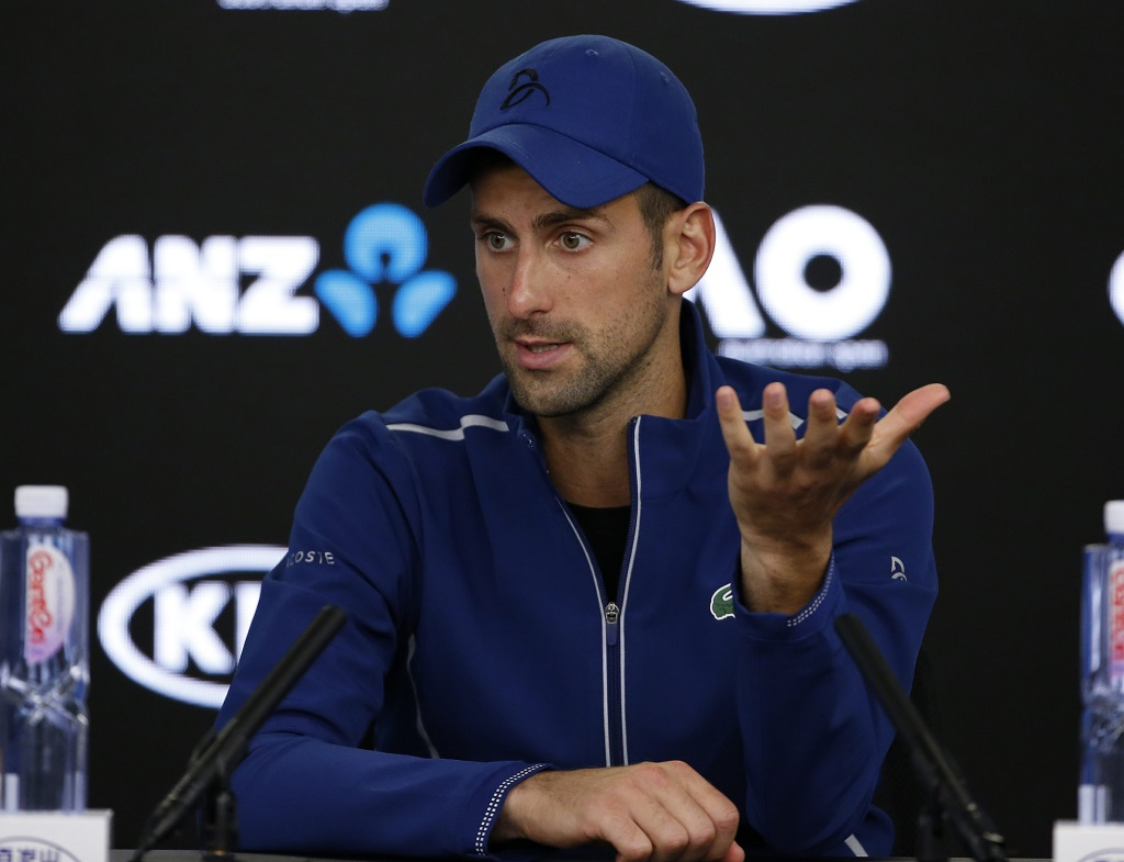 Vers une opération pour Djokovic ?