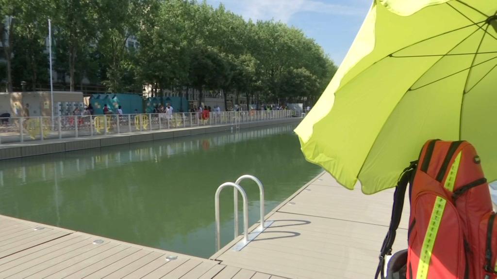 Le bassin de la Villette fermé temporairement