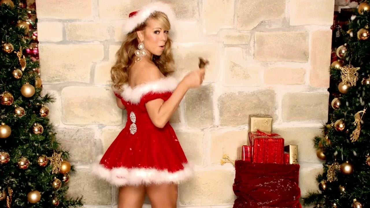 Mariah Carey dans son clip - Capture d'écran Youtube
