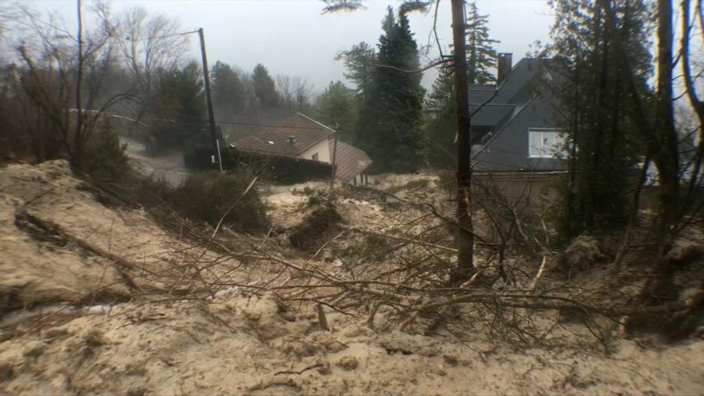 Une coulée de boue fait une victime en Isère