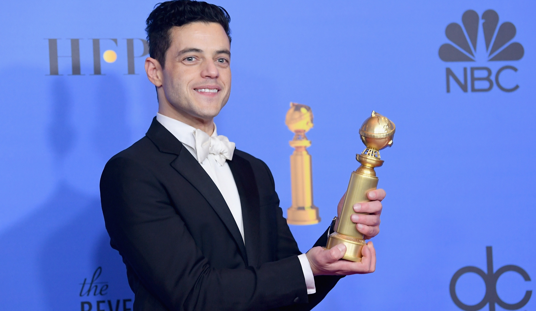 Rami Malek le soir des Golden Globes 2019