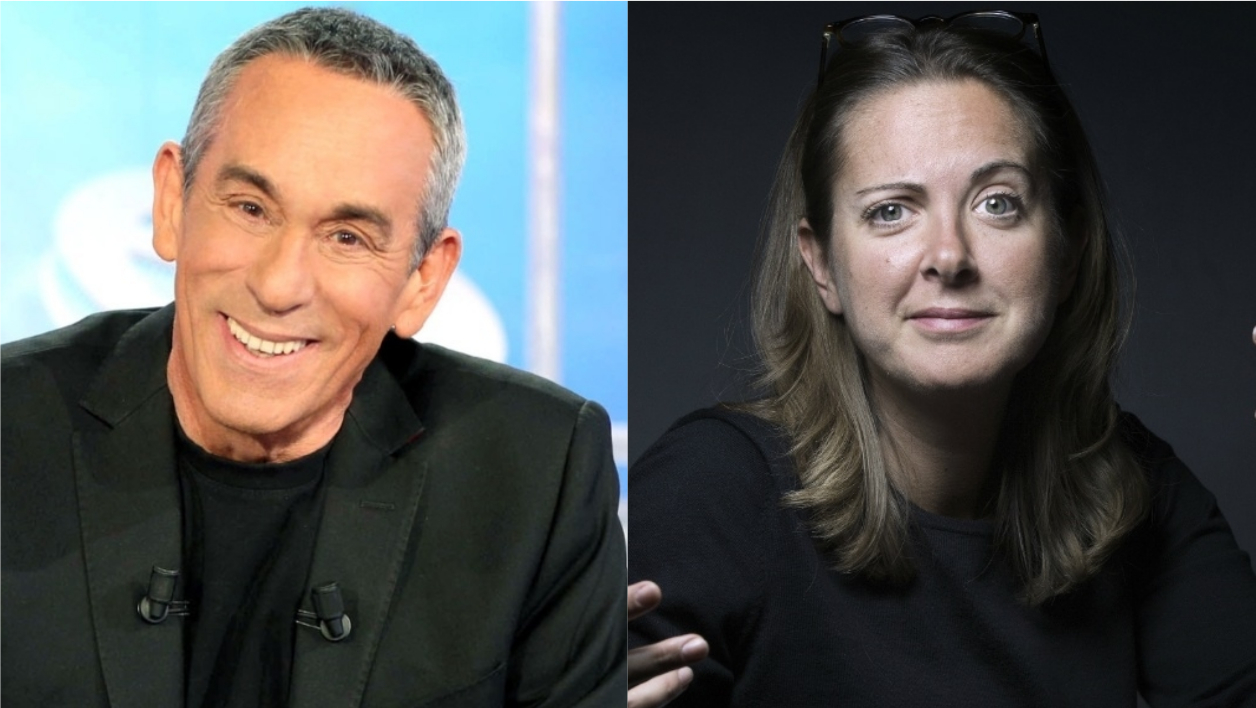 Thierry Ardisson et Charline Vanhoenacker