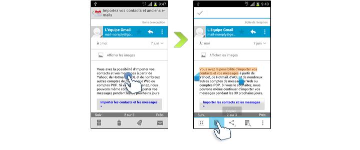 Comment Effectuer Un Copier Coller Sur Votre Samsung Galaxy S2