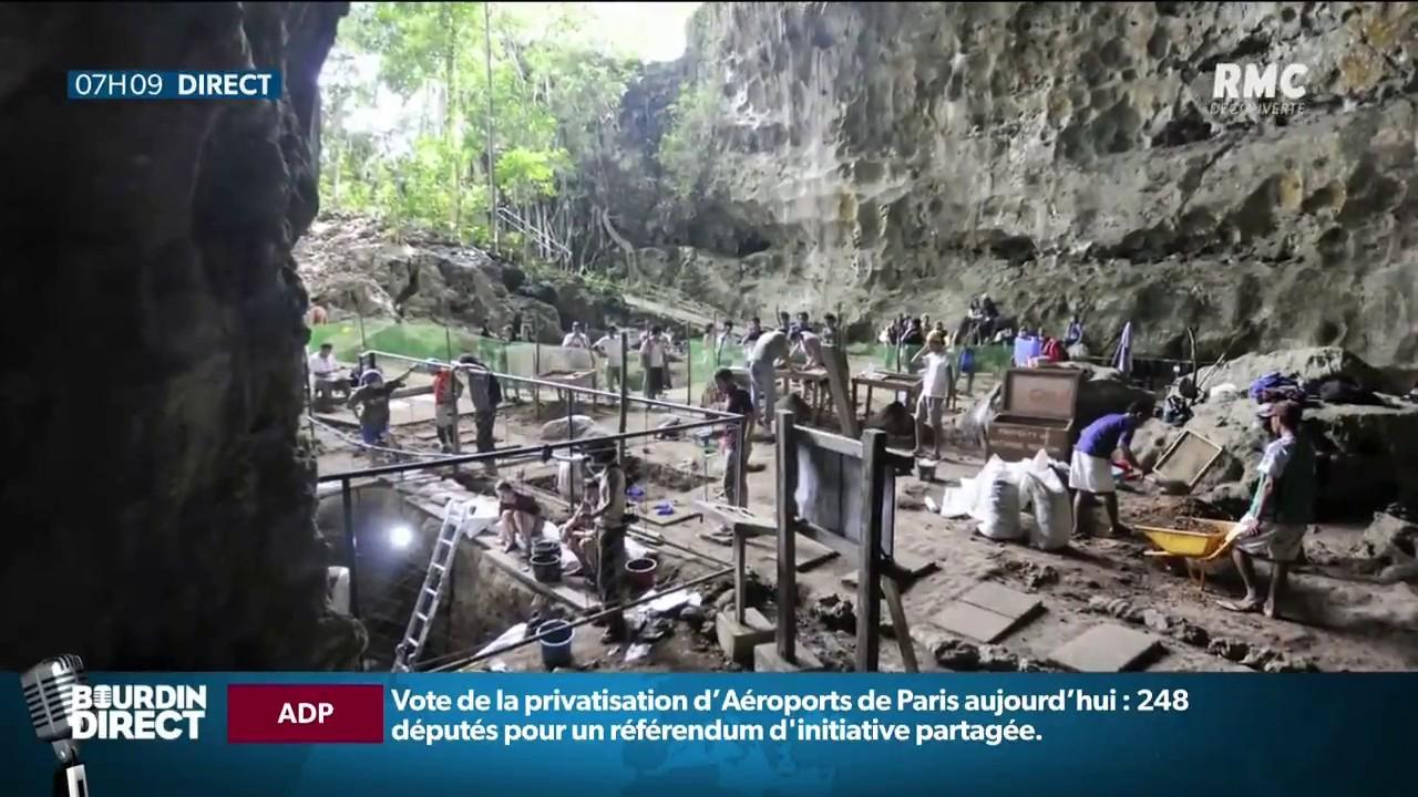 Découverte d'une nouvelle espèce humaine aux Philippines