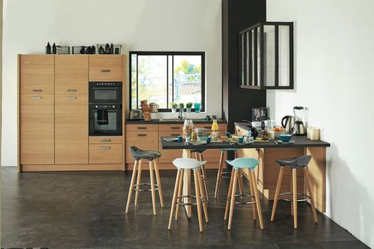 on craque pour ces cuisines en bois sfr news. Black Bedroom Furniture Sets. Home Design Ideas