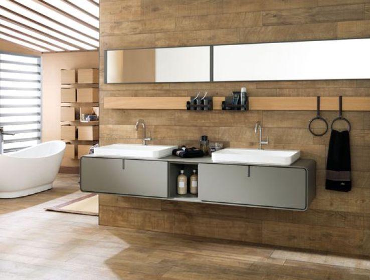 Des meubles de salle de bains qui nous inspirent sfr news for Meuble salle de bain porcelanosa