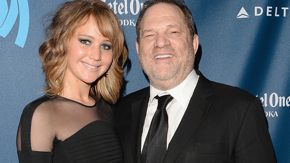 Jennifer Lawrence et Harvey Weinstein