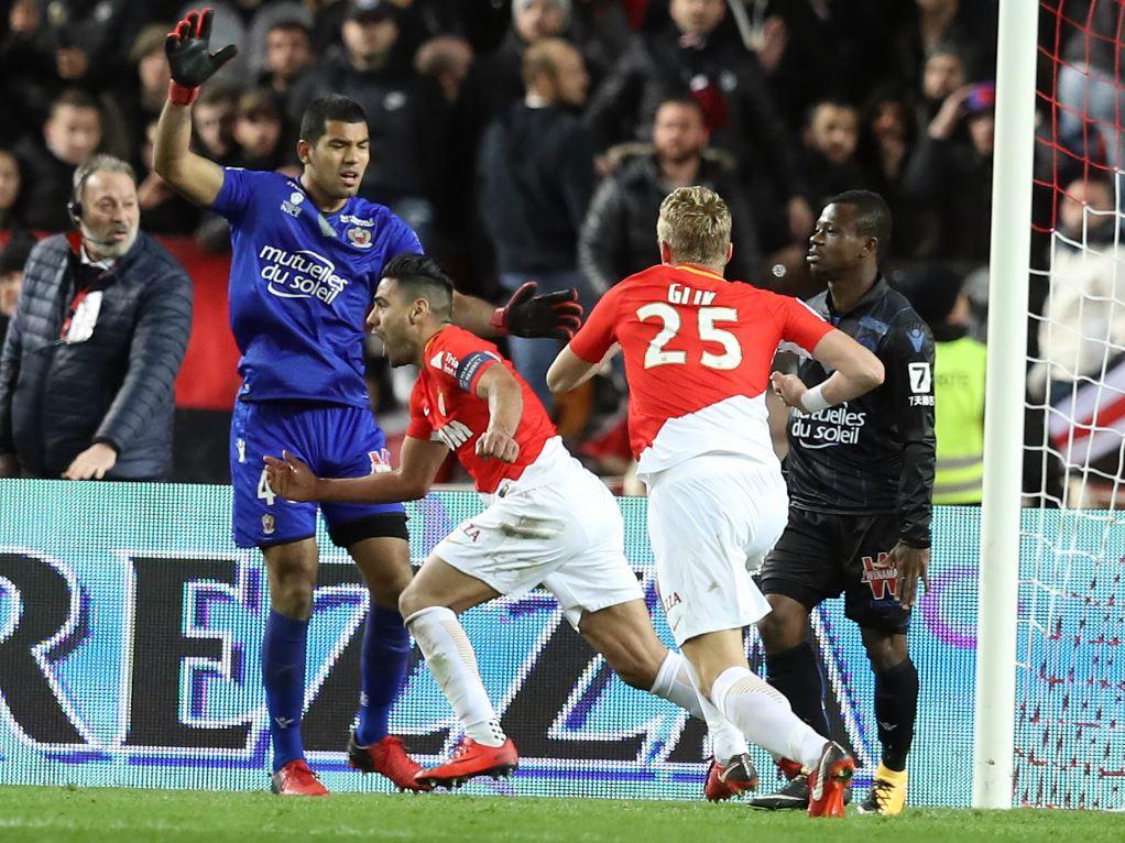 Radamel Falcao a sauvé Monaco contre Nice