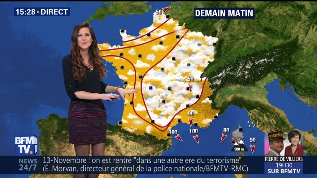 EN VIDEO - La météo pour ce lundi 13 novembre 2017