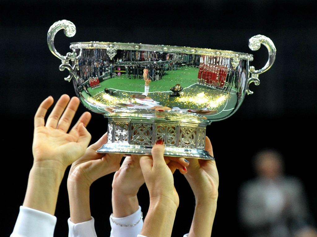 Le trophée de la Fed Cup