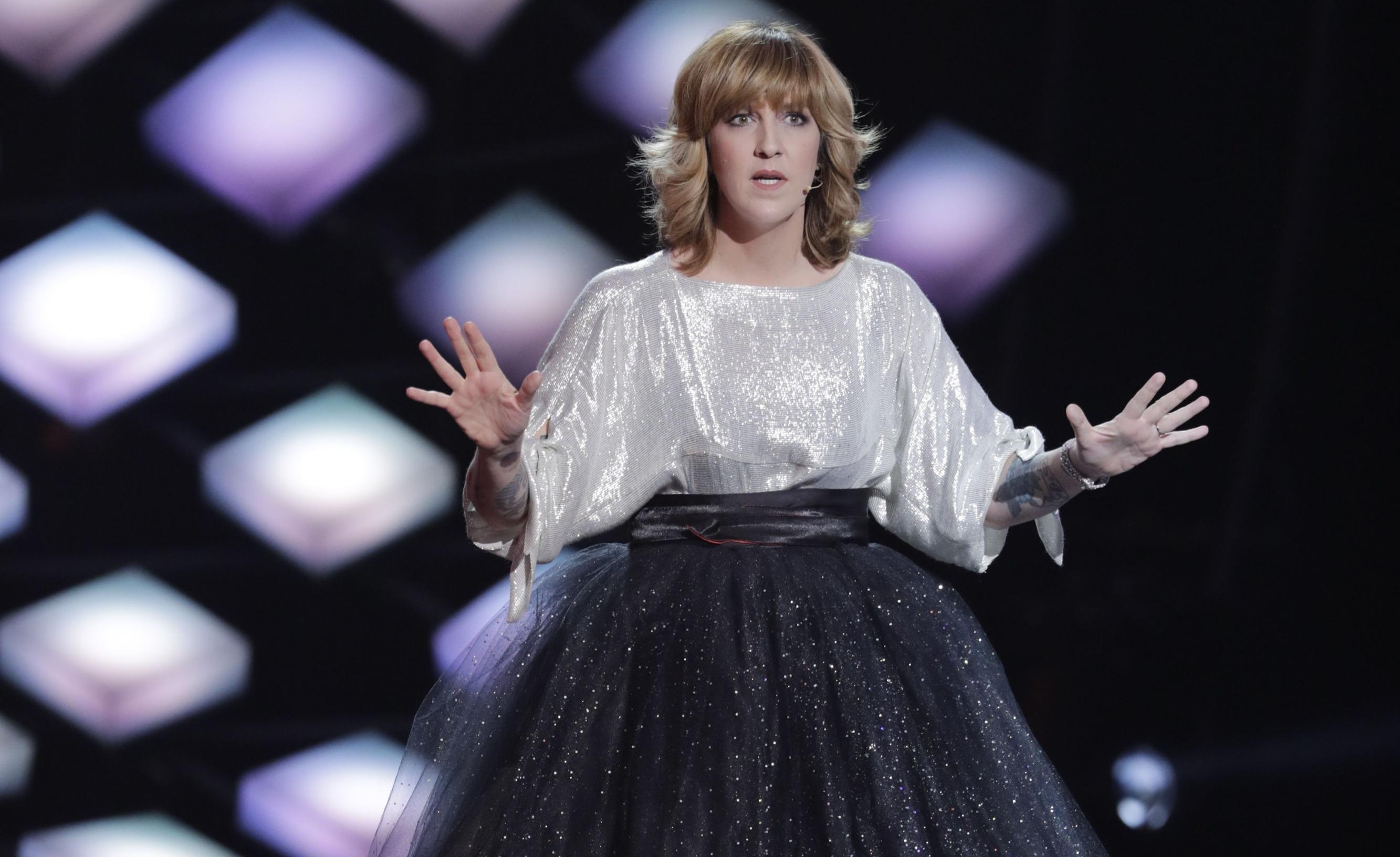 Daphné Bürki lors des Victoires de la Musique 2018
