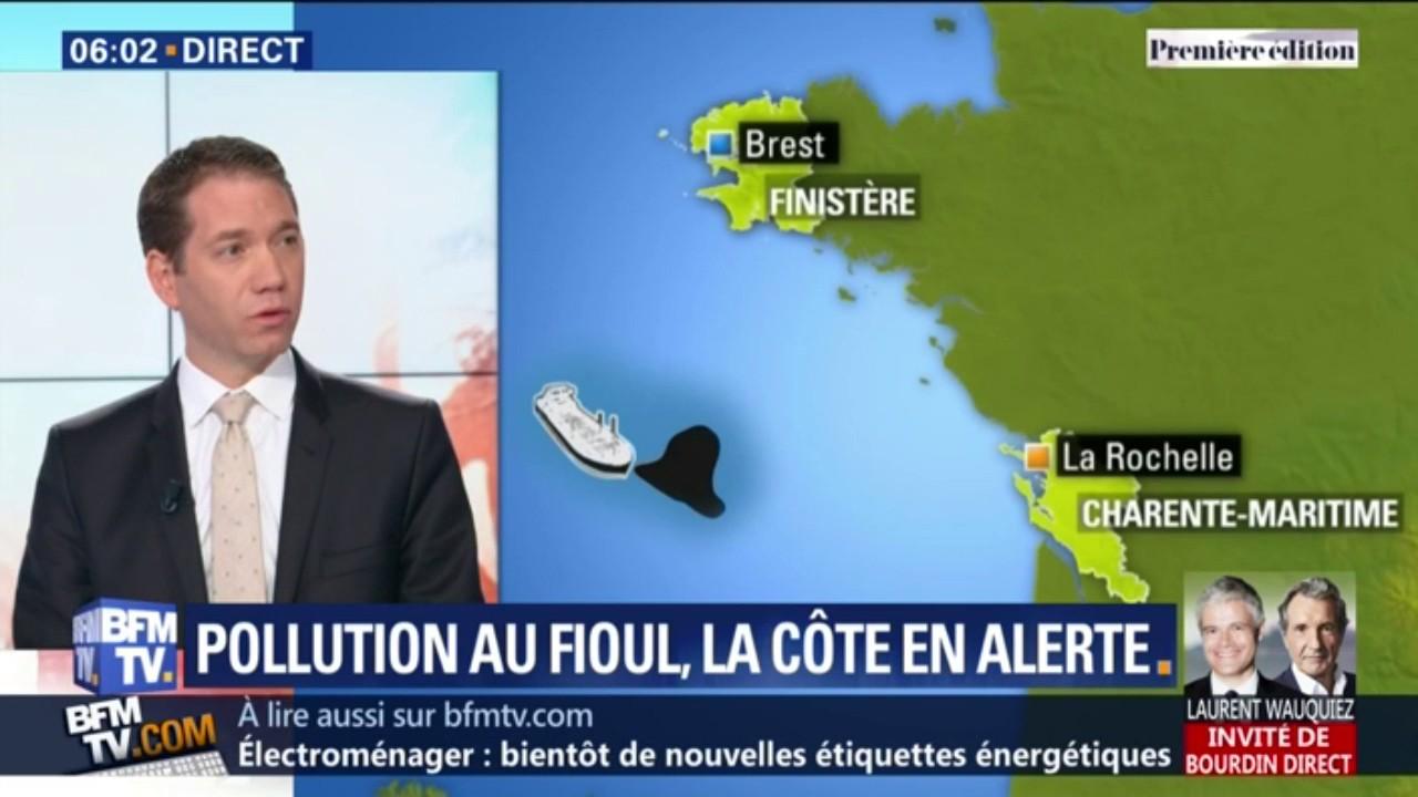 Une marée noire menace les côtes françaises