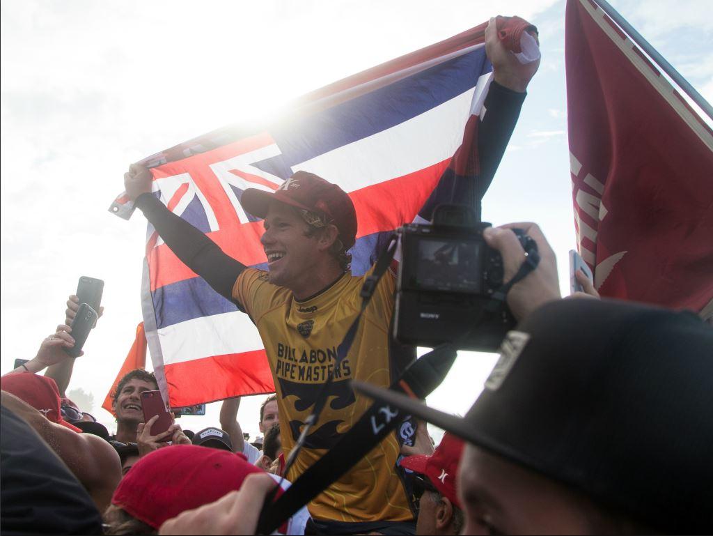 John John Florence remporte son deuxième titre mondial consécutif