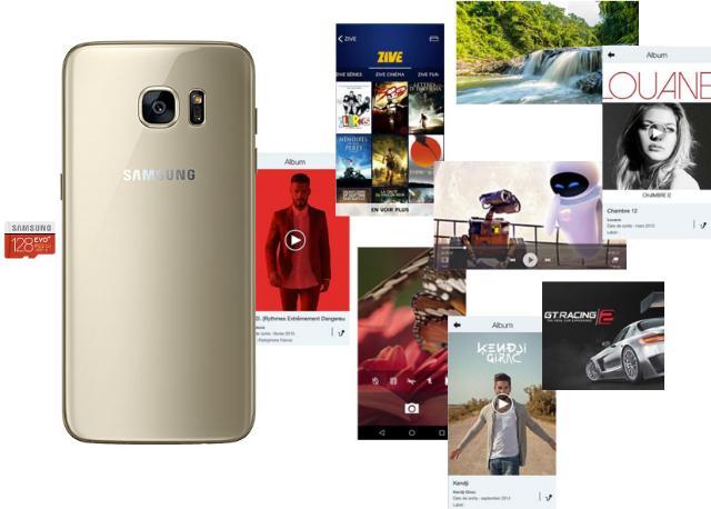 Galaxy S7 Stockage