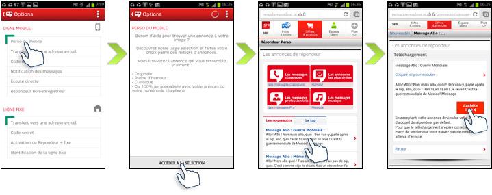 ecouter messagerie portable a distance sfr