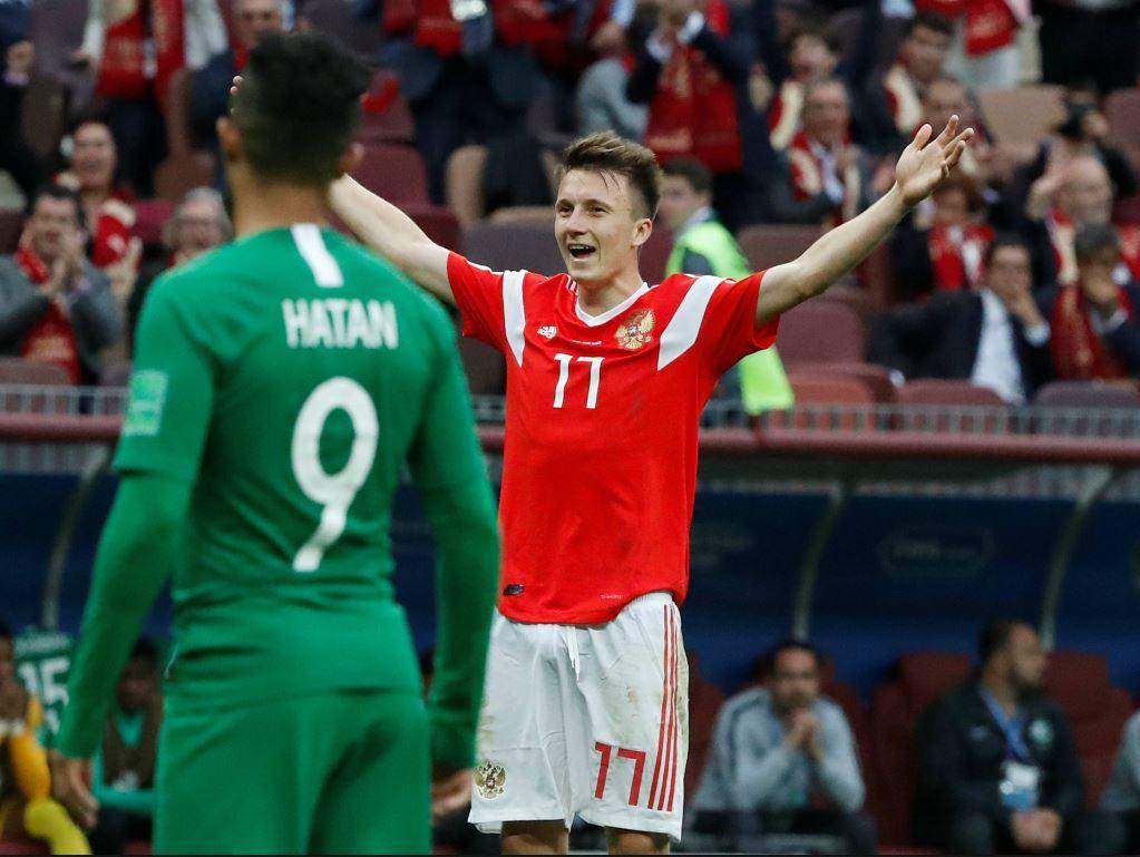 Aleksandr Golovin a brillé en ouverture du Mondial
