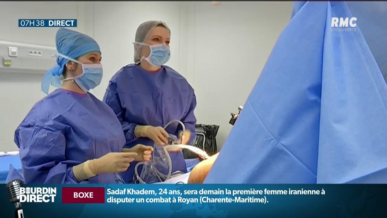 Première greffe d'utérus réalisée en France