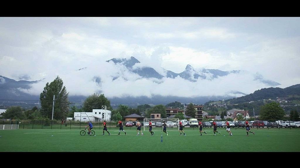 Equipe de France de handball à la La Toussuire