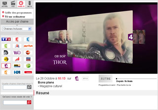 Comment accéder à l'application SFR TV sur PC ?