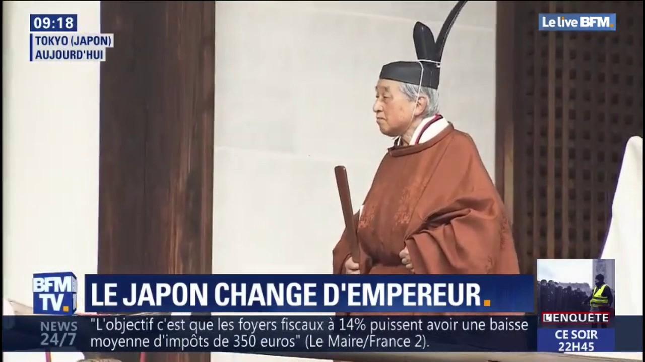Japon : abdication de l'empereur, une première en 200 ans