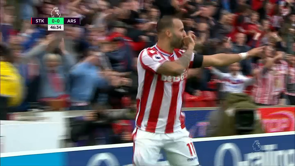 Jesé offre la victoire à Stoke face à Arsenal — Premier League