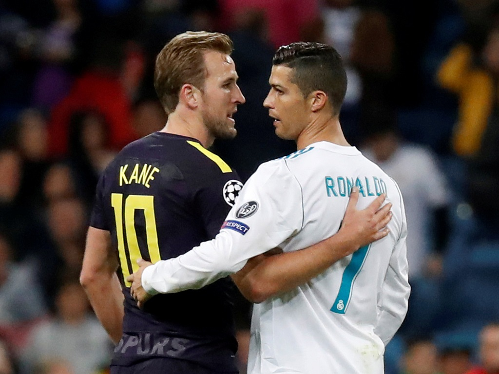 Harry Kane et Cristiano Ronaldo