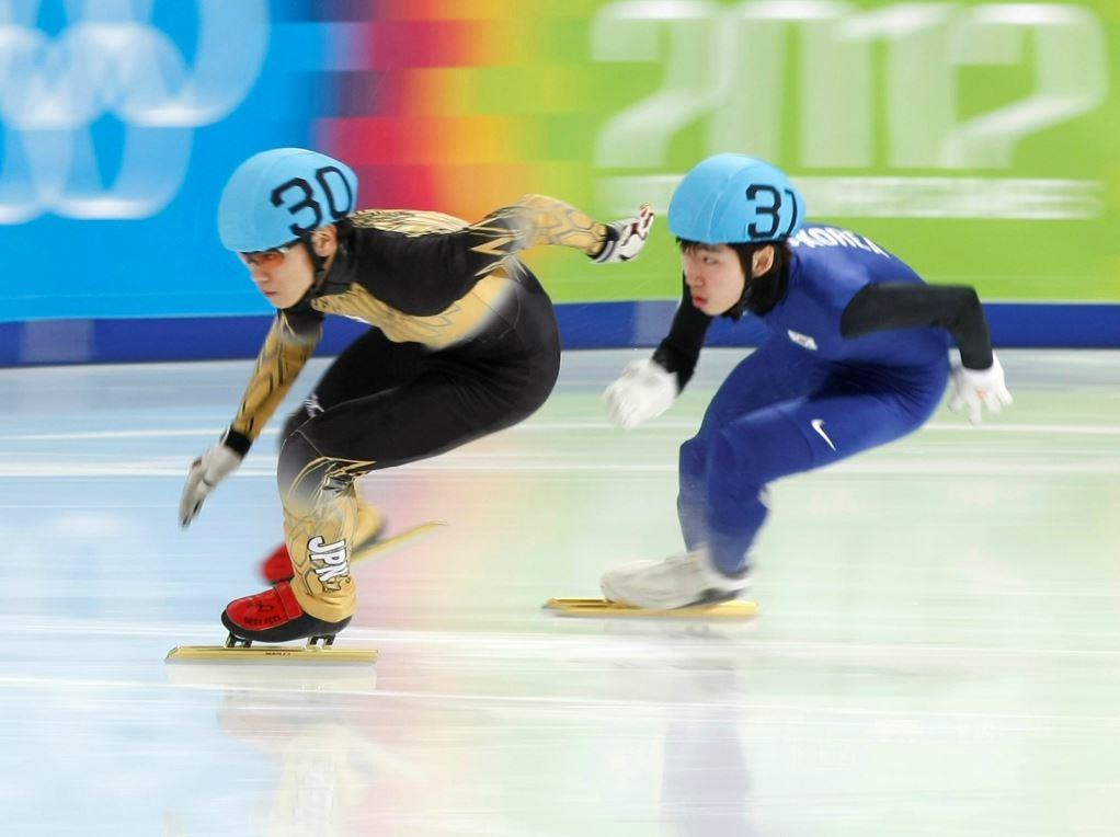 Kei Saito (à gauche) en 2012