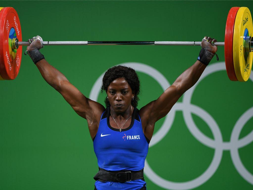 Gaëlle Nayo Ketchanke lors des Jeux olympiques de Rio en 2016