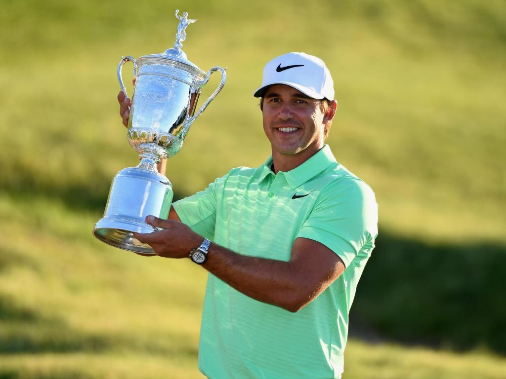 Brooks Koepka savoure son triomphe à l'US Open
