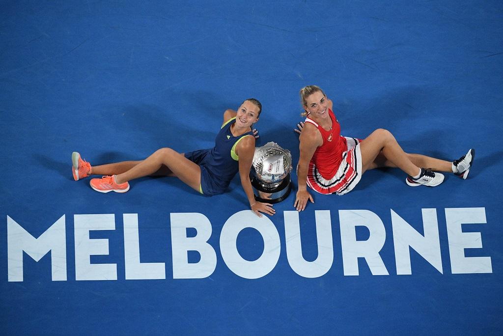 Open d'Australie: Kristina Mladenovic triomphe en double