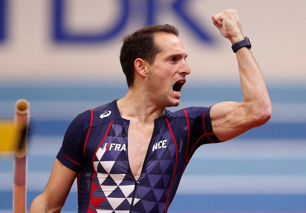 Renaud Lavillenie champion du monde en salle du saut à la perche