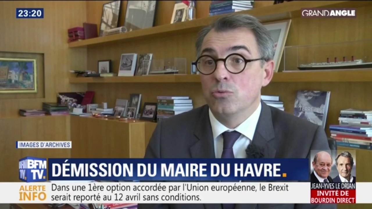 Le Havre : Démission du maire après la diffusion de photos de lui nu