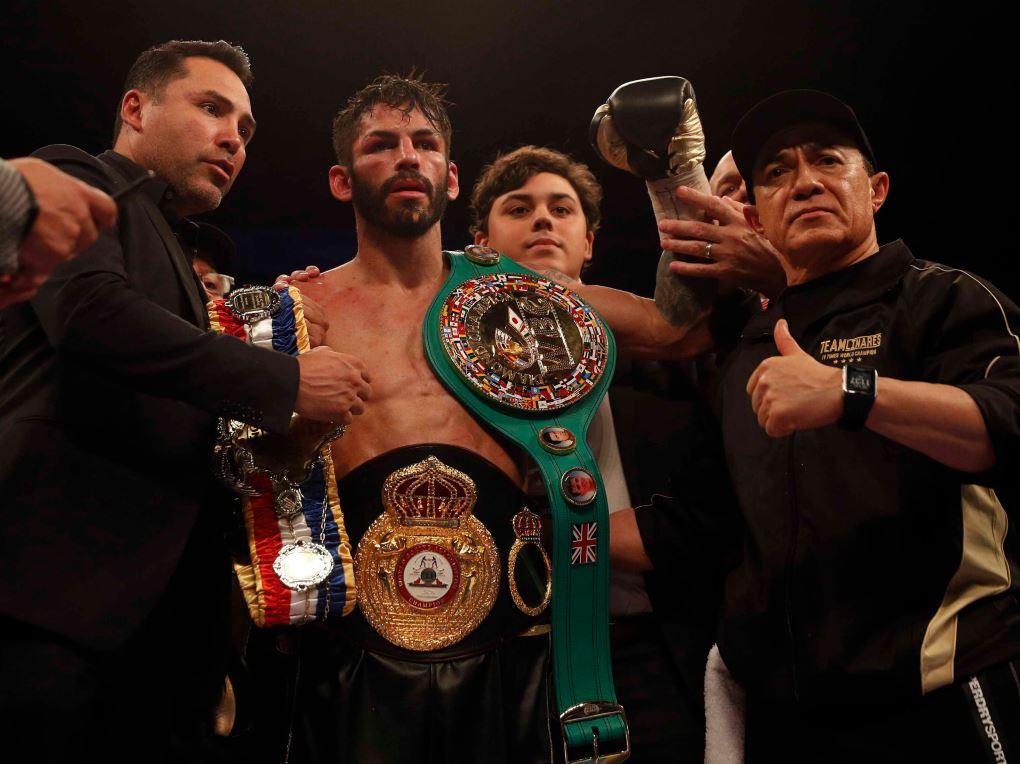 Jorge Linares (au centre) et Ismael Salas (à droite)