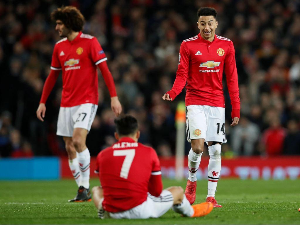 Alexis Sanchez n'a rien montré lors de l'élimination de Manchester United