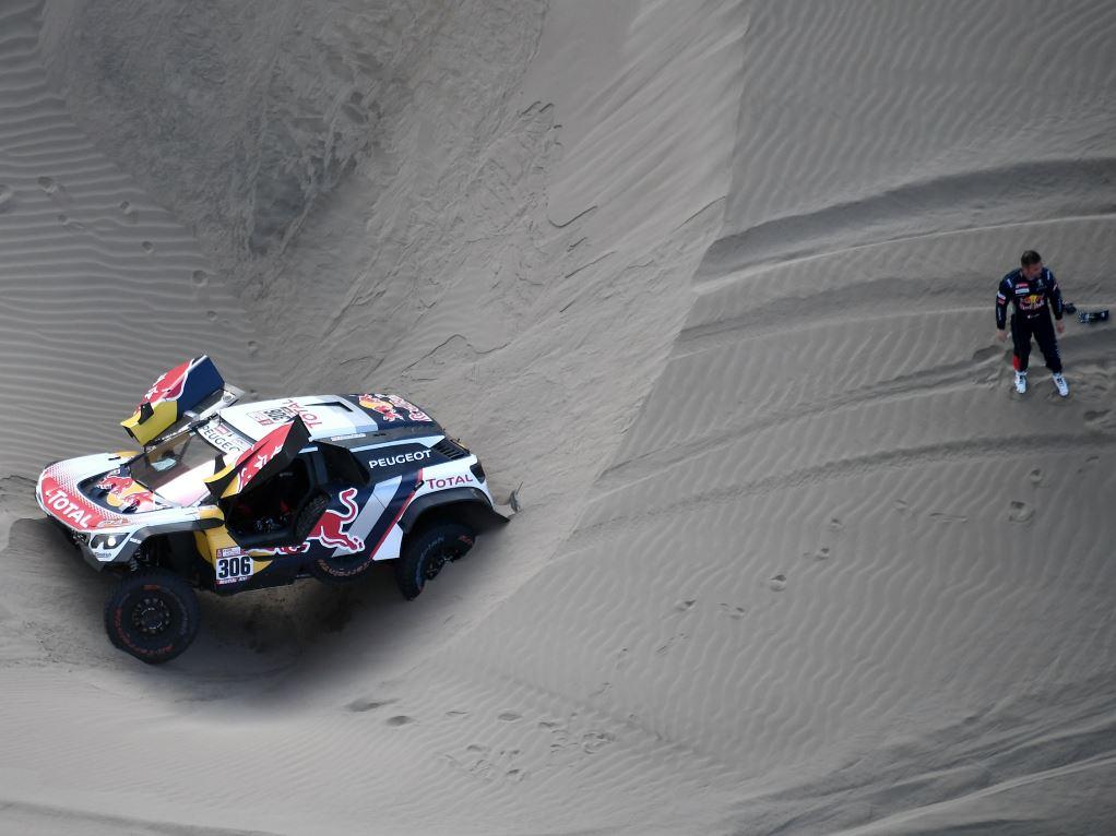Sébastien Loeb contraint à l'abandon sur le Dakar