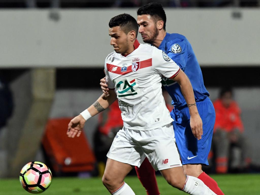 Rony Lopes a montré la voie aux Lillois contre Bergerac