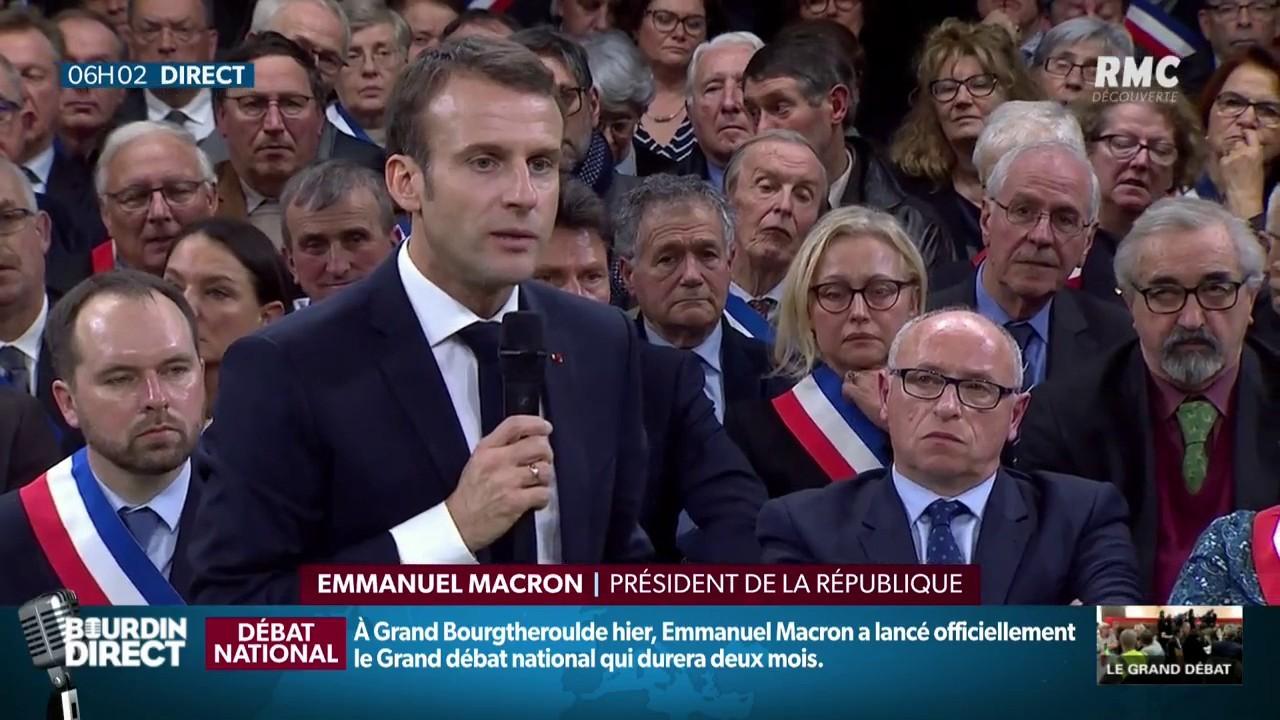"""""""Grand débat national"""" : Les 3 annonces principales de Macron"""