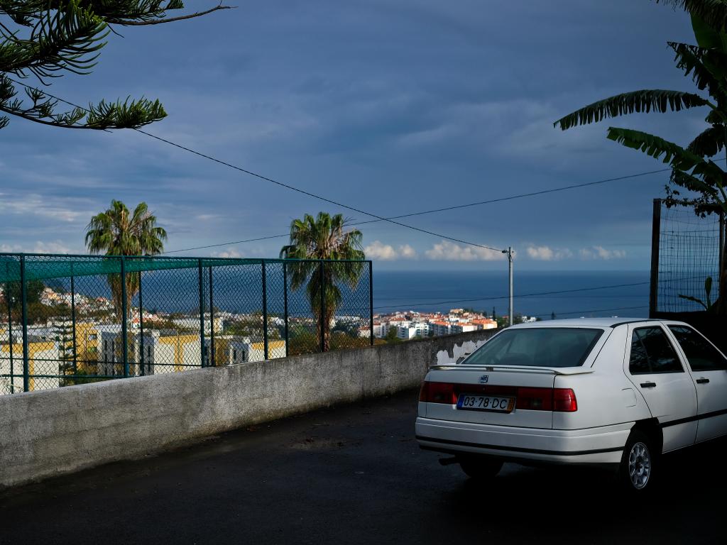 Le parking qui a remplacé la maison d'enfance de Cristiano Ronaldo