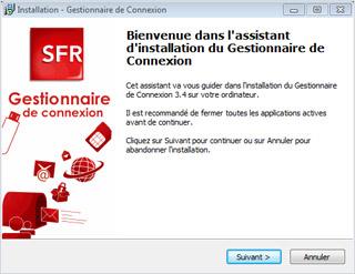 CONNEXION SFR GESTIONNAIRE 3G TÉLÉCHARGER DE