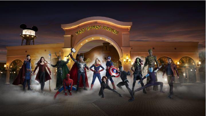 EN IMAGES - Groot, Captain Marvel, Iron Man: le super casting de