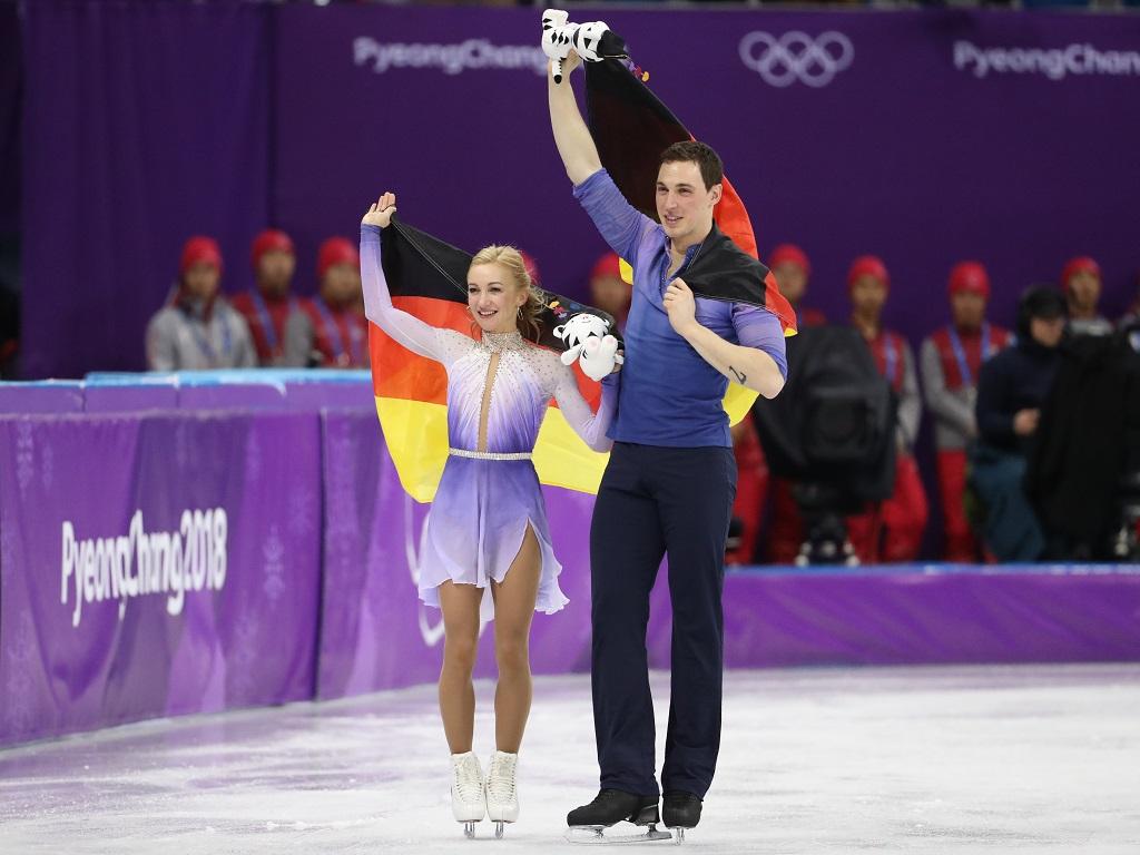 Aljona Savchenko et Bruno Massot