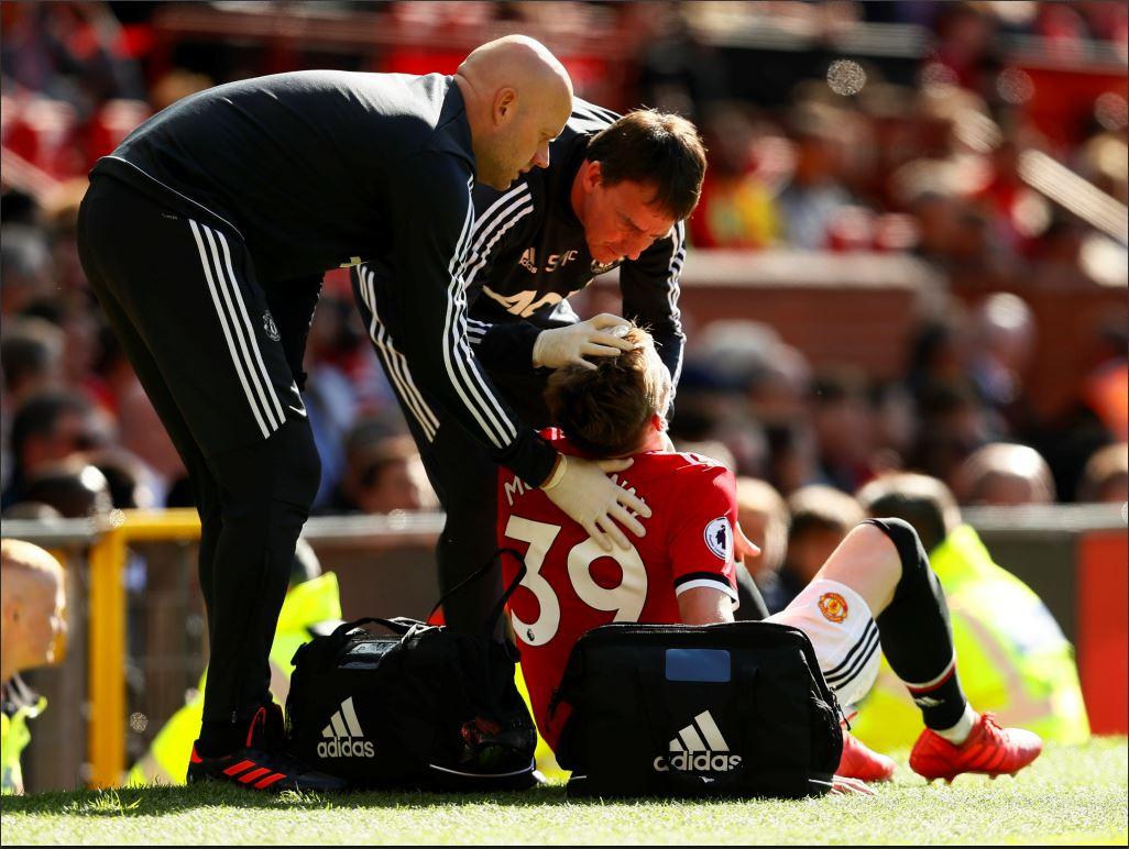 Juan Mata examiné par le staff médical de Manchester United
