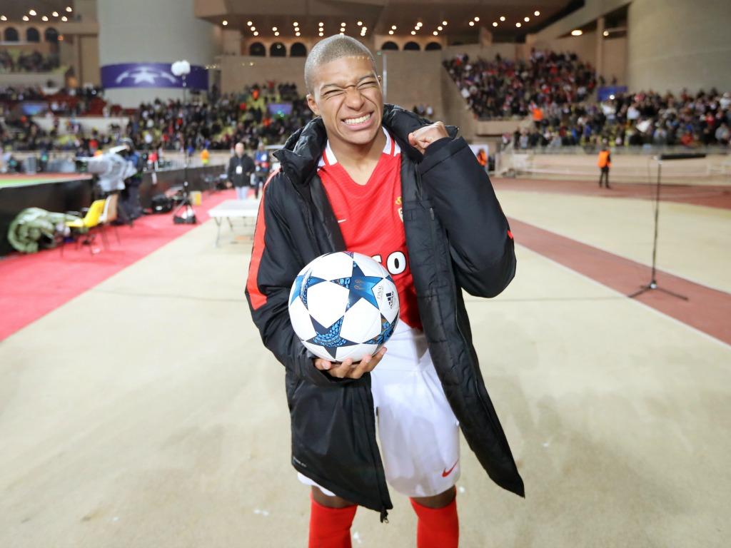 La joie de Kylian Mbappé après la qualification contre le Borussia Dortmund