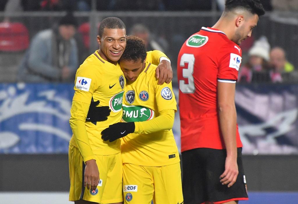 Le PSG facile à Rennes