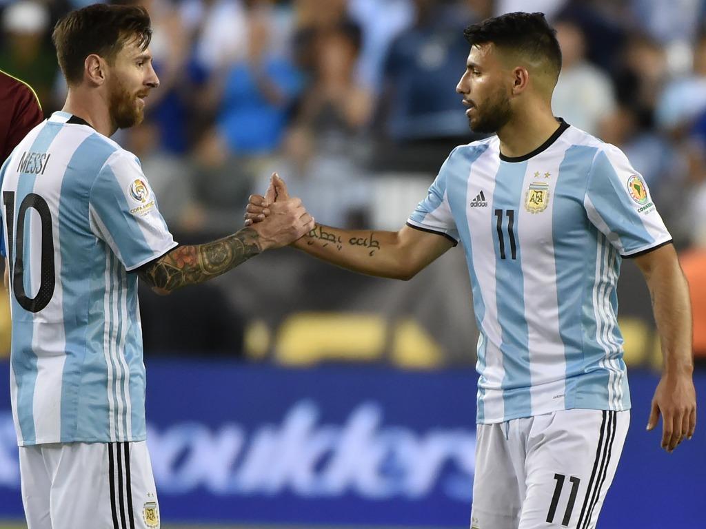 Lionel Messi et Sergio Agüero