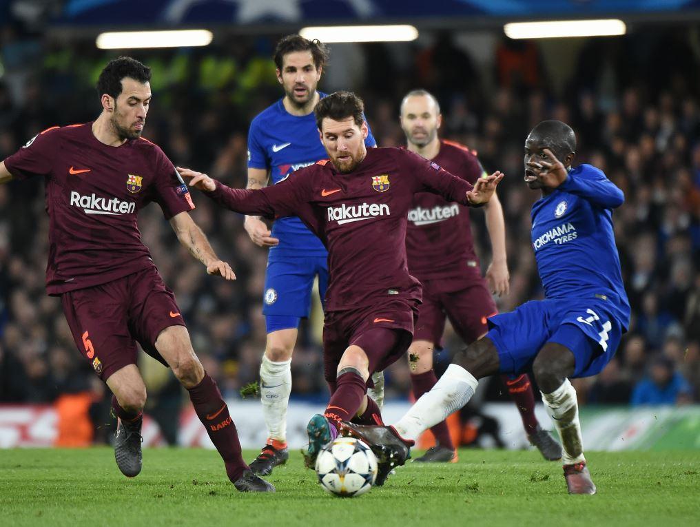 Lionel Messi face à Chelsea