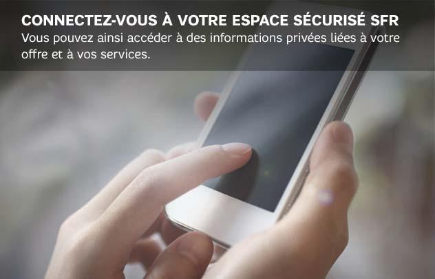 SFR mon compte - Espace sécurisé