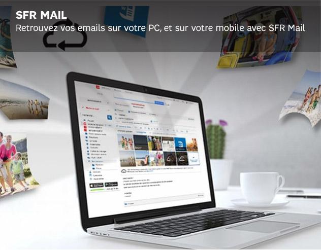 SFR Mail : votre messagerie SFR sur webmail, sur mobile
