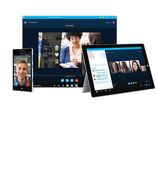 Skype Business Conference: Collaborez en audio et visio en illimité